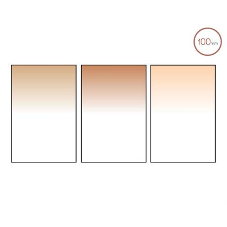 Includes Chocolate 2 Graduated, Coral 6 Graduated and Tobacco 2 Graduated filters