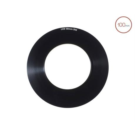 LEE Filters 100mm System 58mm Adaptor Ring  Image 1
