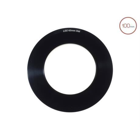 LEE Filters 100mm System 62mm Adaptor Ring  Image 1