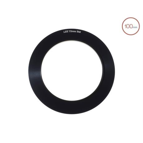 LEE Filters 100mm System 72mm Adaptor Ring  Image 1