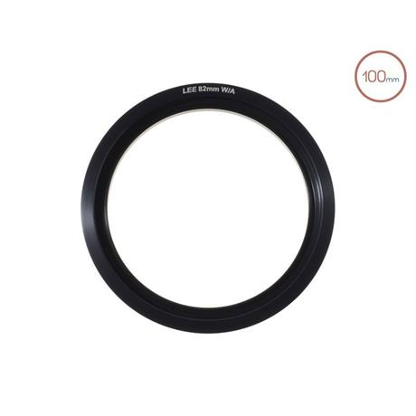 LEE Filters 100mm System 82mm Wide Angle Adaptor Ring  Image 1