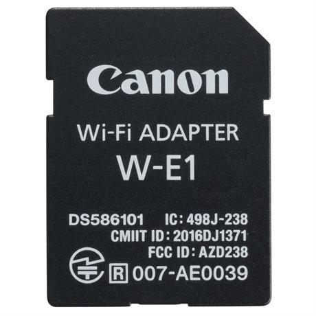 Canon W-E1 Wi-Fi Adapter Image 1