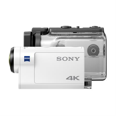 Sony FDR-X3000R 4K Action Camera with finger grip Image 1