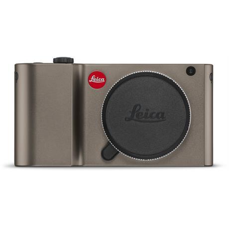 Leica TL Mirrorless Camera - Titanium Anodised Finish Image 1