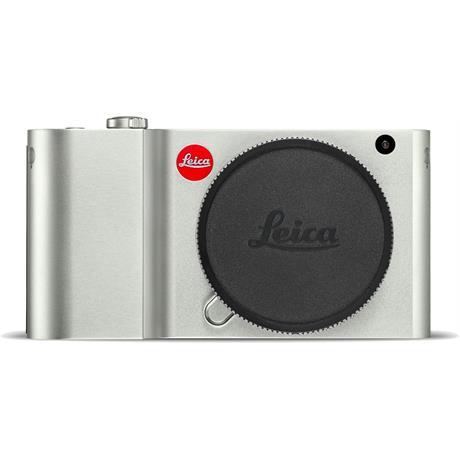 Leica TL Mirrorless Camera - Silver Anodised Finish Image 1
