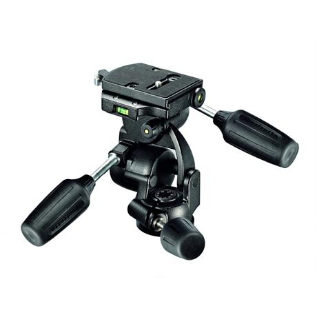 Manfrotto 808 3-Way Head with RC4 Quick Release Image 1