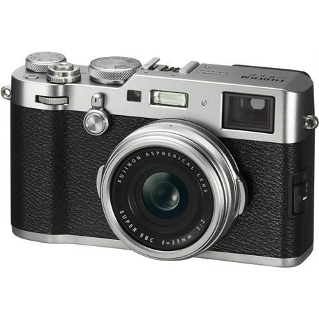 Fujifilm X100F Silver Angle