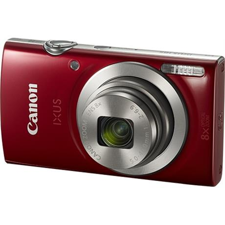 Canon IXUS 185 Red Front Angle