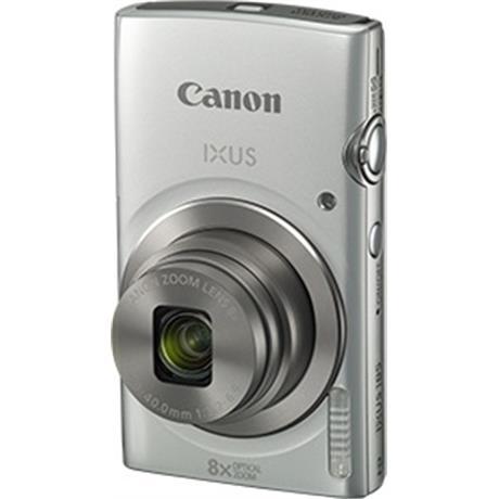 Canon IXUS 185 Silver Front Angle