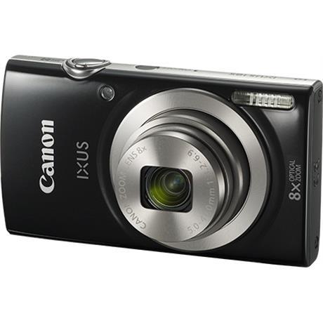 Canon IXUS 185 Black Front Angle