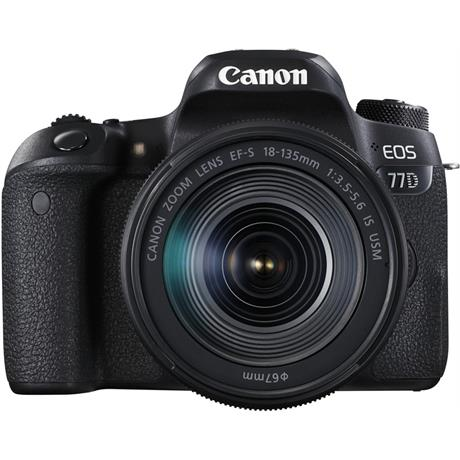 Canon EOS 77D 18-135 Kit Front
