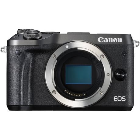 Canon EOS M6 Black Front