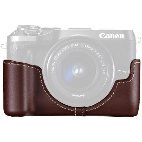 Canon EH30-CJ Brown Body Jacket for EOS M6 Image 1