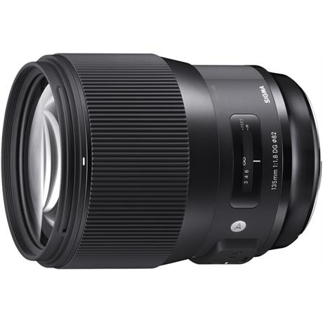 Sigma 135mm f/1.8 DG HSM Art Telephoto Prime Nikon Fit Lens Image 1