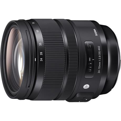 Sigma 24-70mm f/2.8 DG OS HSM Art Standard Zoom Canon Fit Lens Image 1