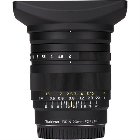 Tokina Firin 20mm f/2 Sony FE
