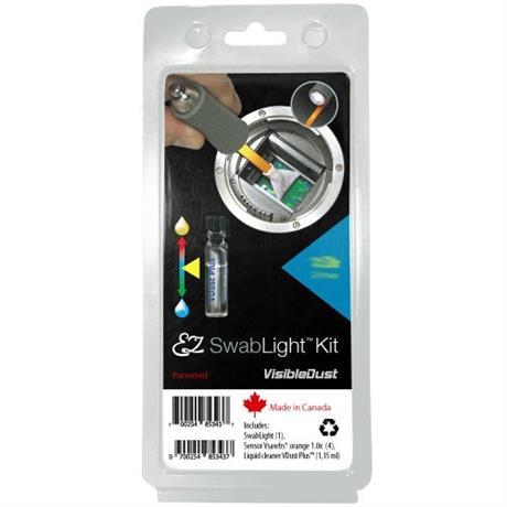 VisibleDust EZ SwabLight VDust Plus DHAP 1.6x Cleaning Kit Image 1