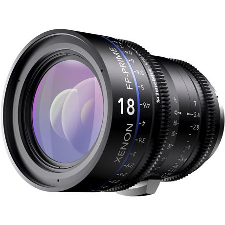 Xenon FF 18mm T2.4 Lens with Sony E Mount (Feet)