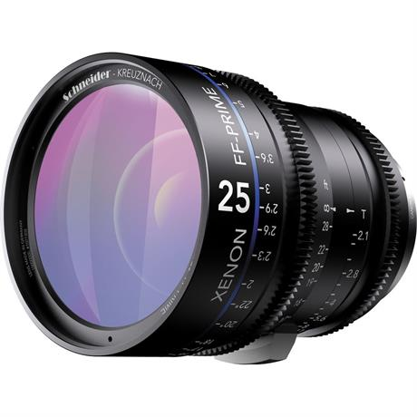 Xenon FF 25mm T2.1 Lens with PL Mount (Metres)