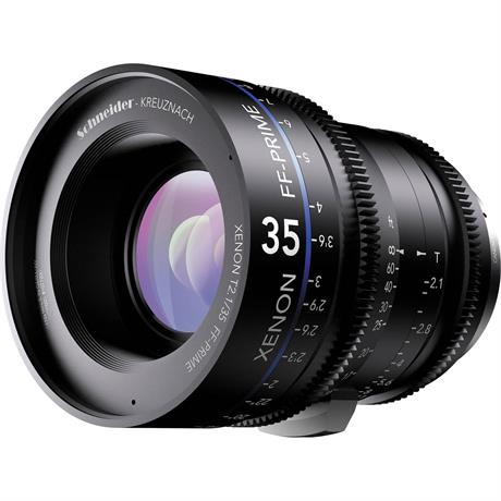 Xenon FF 35mm T2.1 Lens with Canon EF Mount (Feet)
