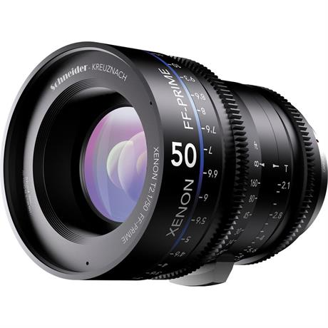 Xenon FF 50mm T2.1 Lens with Canon EF Mount (Feet)