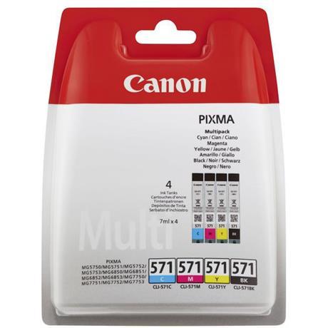 Canon CLI-571 Multipack Image 1