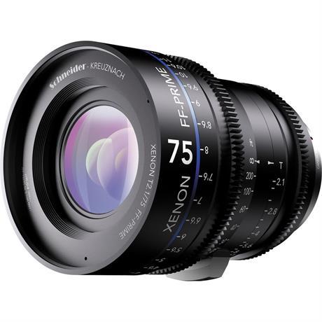 Xenon FF 75mm T2.1 Lens with Nikon F Mount (Feet)