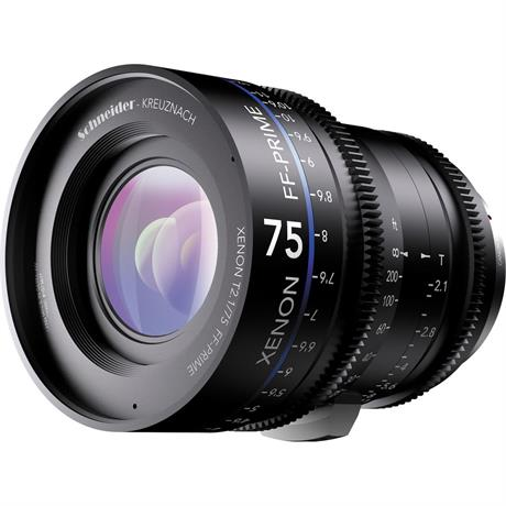 Xenon FF 75mm T2.1 Lens with Sony E Mount (Metres)