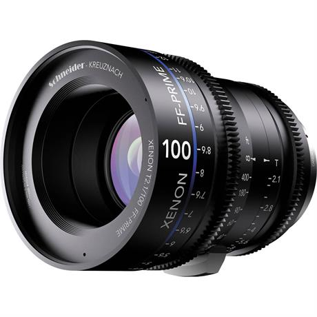 Xenon FF 100mm T2.1 Lens with Canon EF Mount (Metres)