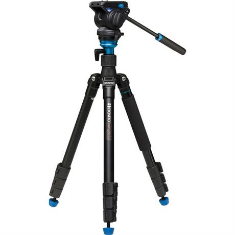 A2883FS4 Aluminium Aero4 Video Tripod with S4 Head Kit