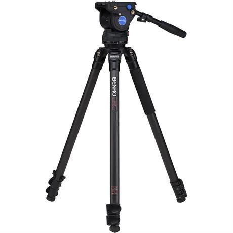 C373FBV4H Series 3 Aluminium Single Leg Video Tripod with BV4H Head Kit