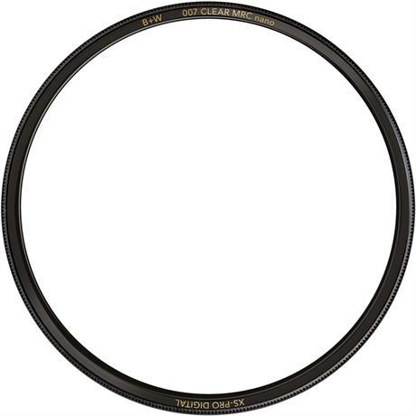 B+W 49mm XS-Pro Digital 007 Clear Protector Filter MRC Nano Image 1
