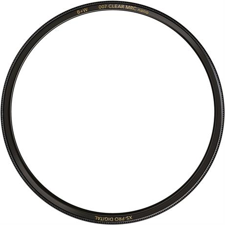 B+W 62mm XS-Pro Digital 007 Clear Protector Filter MRC Nano Image 1