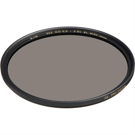B+W 52mm XS-Pro 803 Neutral Density 0.9 Filter MRC-Nano (3-Stop) Image 1