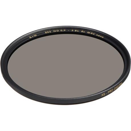 B+W 60mm XS-Pro 803 Neutral Density 0.9 Filter MRC-Nano (3-Stop) Image 1
