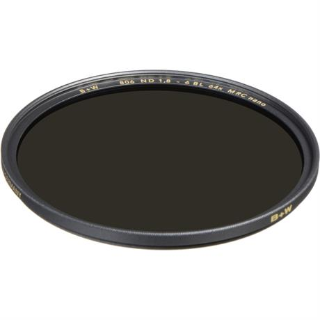 B+W 43mm XS-Pro 806 Neutral Density 1.8 Filter MRC-Nano (6-Stop) Image 1