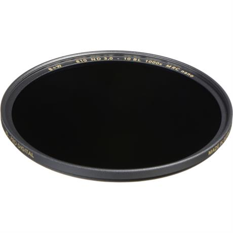 B+W 37mm XS-Pro 810 Neutral Density 3.0 Filter MRC-Nano (10-Stop) Image 1