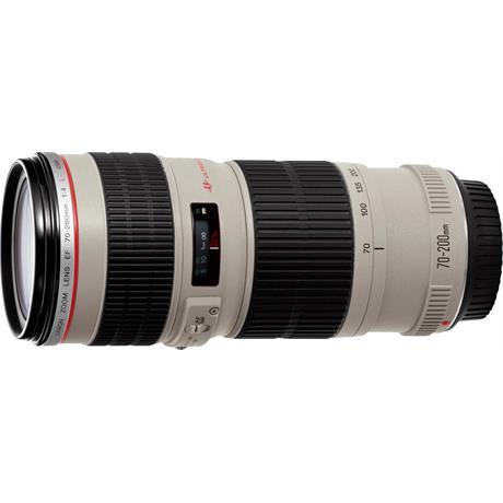 Canon EF 70-200mm f/4L USM Telephoto Zoom Lens Image 1