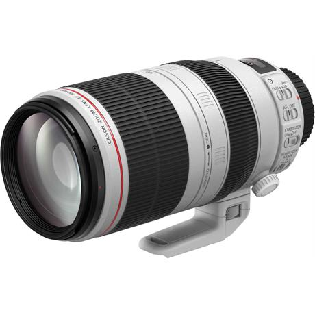 Canon EF 100-400mm f4.5-5.6L IS II USM Lens Front Angle