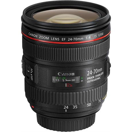 Canon EF 24-70mm f/4L IS USM Zoom Lens Image 1