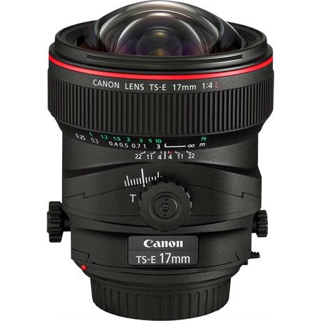 Canon TS-E 17mm f/4L Manual Focus Tilt-Shift Lens Image 1