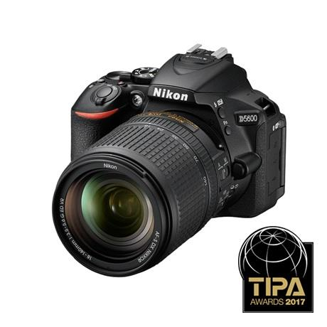 Nikon D5600 Digital SLR Camera + 18-140mm VR Lens Kit Image 1
