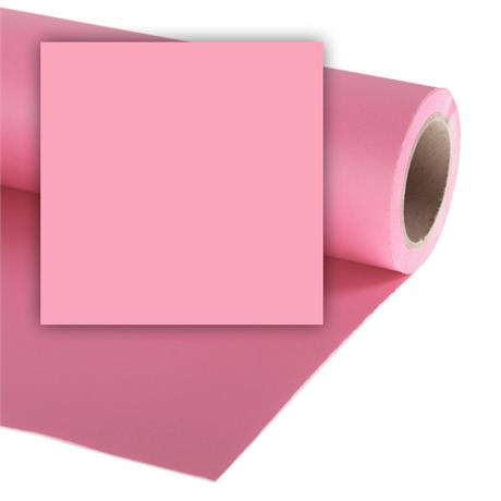 Colorama Paper Background 2.72 x 11m Carnation LL CO121 Image 1