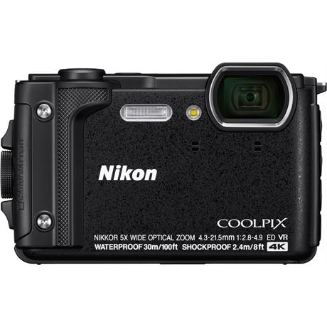 Nikon Coolpix W300 Waterproof Compact Camera in Black Image 1