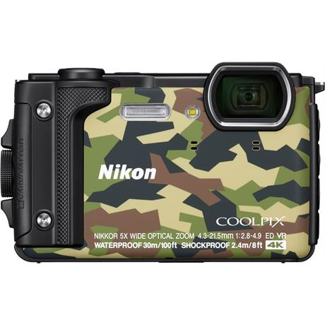 Nikon Coolpix W300 Waterproof Compact Camera in Camouflage Image 1