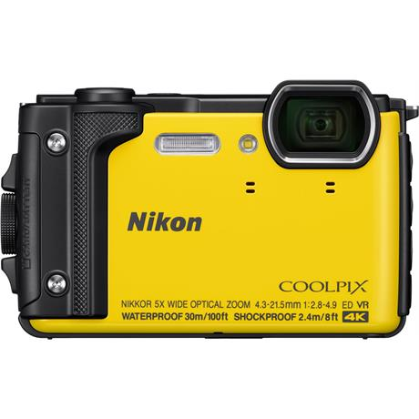 Nikon Coolpix W300 Waterproof Compact Camera in Yellow Image 1