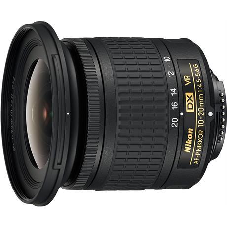 Nikon AF-P DX NIKKOR 10-20mm f/4.5-5.6G VR Ultra-Wide Angle Zoom Lens