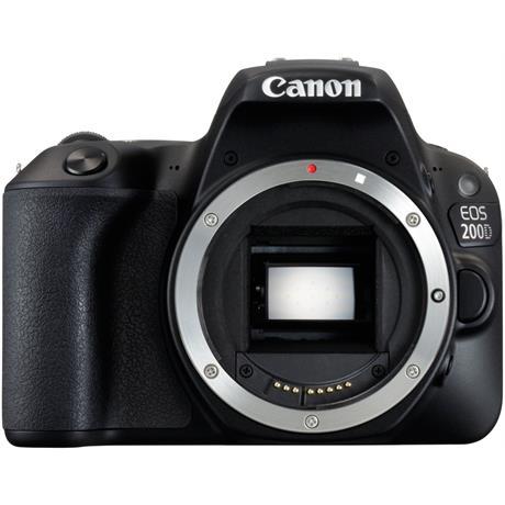 Canon EOS 200D DSLR Camera Body in Black Image 1