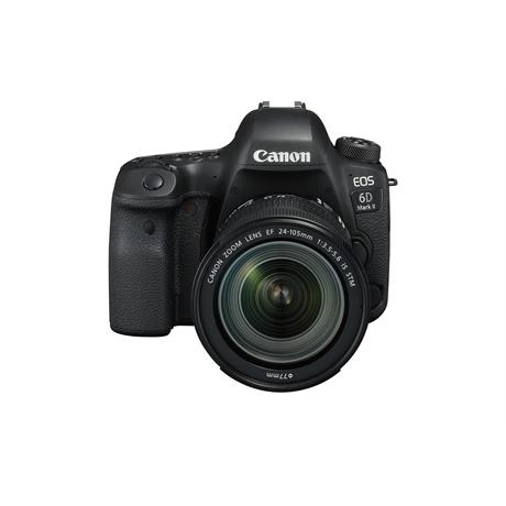 Canon 6D Mark II DSLR camera + EF 24-105mm IS STM lens kit