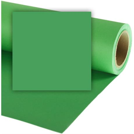 Colorama 1.35mx11m Chromagreen Photographic Paper Image 1